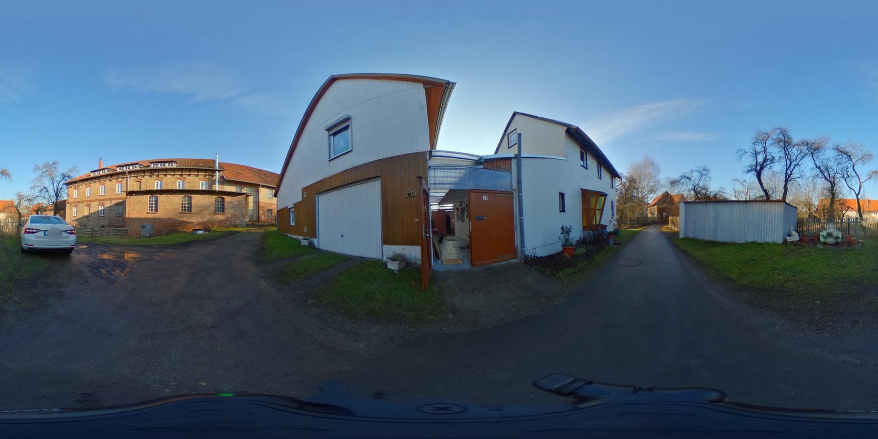 Im eigenen Haus - Maisonettewohnung in Veckenstedt zu vermieten. 360 Grad